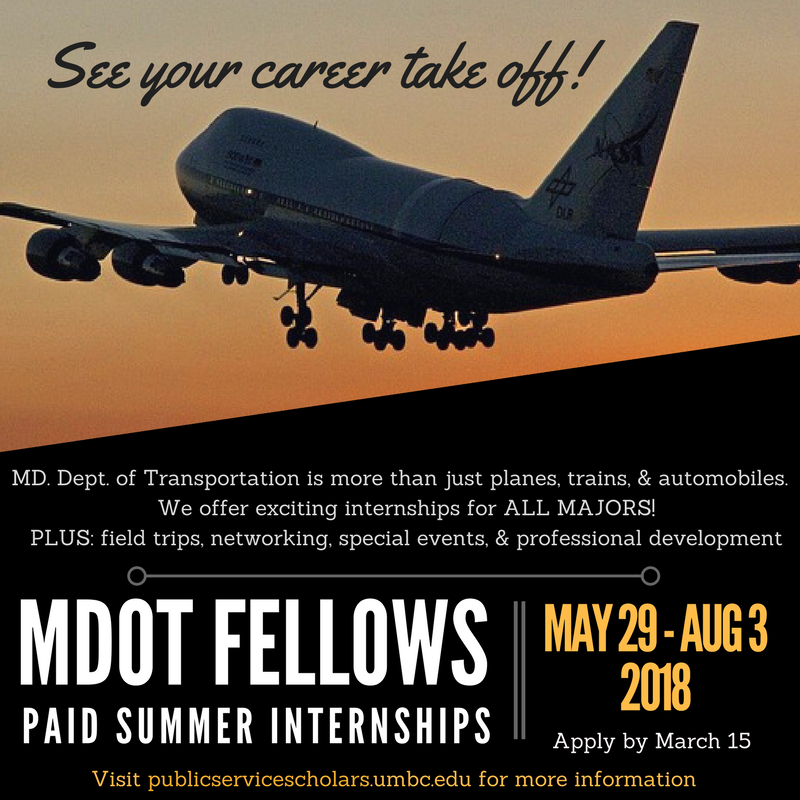 MDOT Fellows applications due March 15